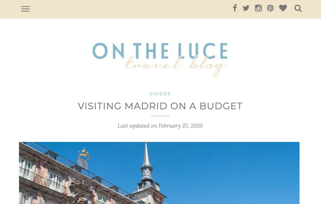 Local Madrid Tips