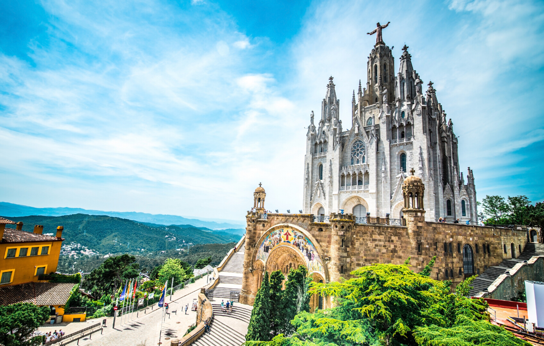 Tibidabo Amusement Park with Kids