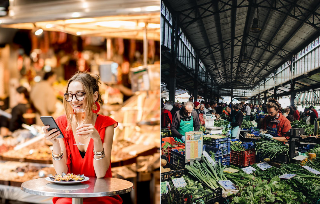 Food Markets in Rome