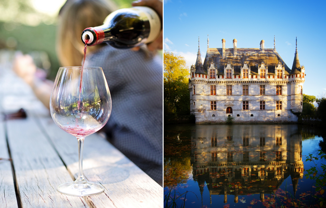 Wine and Castle Tour in Loire France