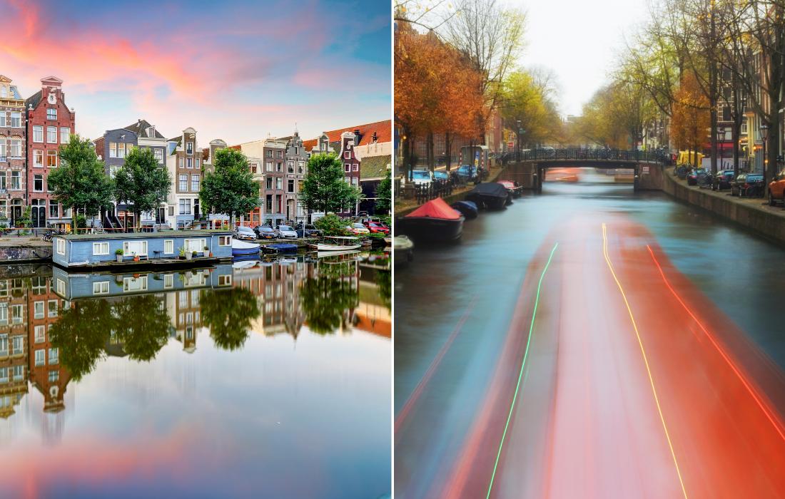Private boat cruise in Amsterdam
